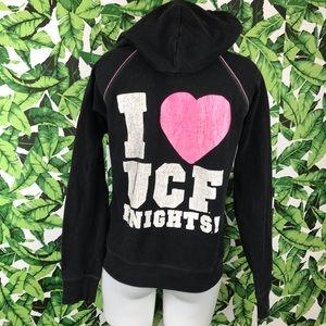 5 for $25 PINK VS Black UCF Knights Zip Up Hoodie